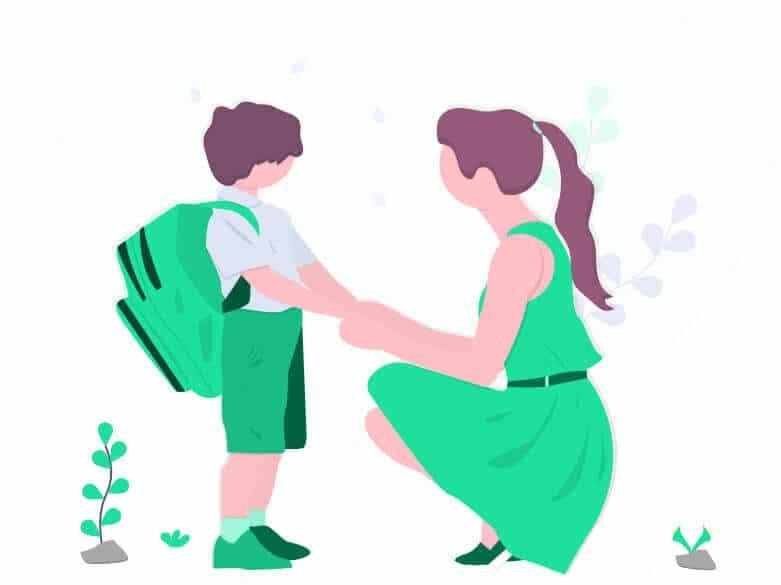Imagem - Mãe e criança